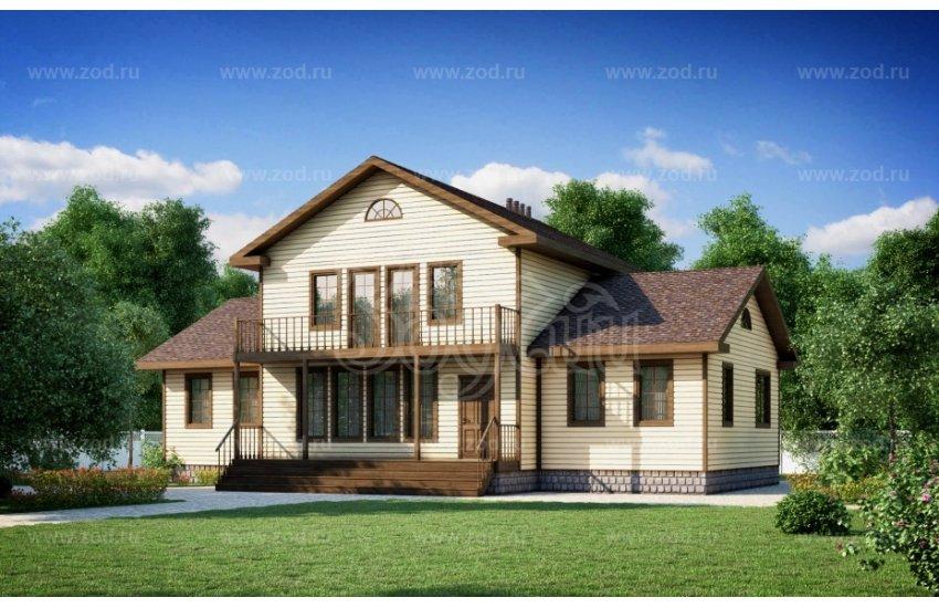 Дом 17.00×13.40