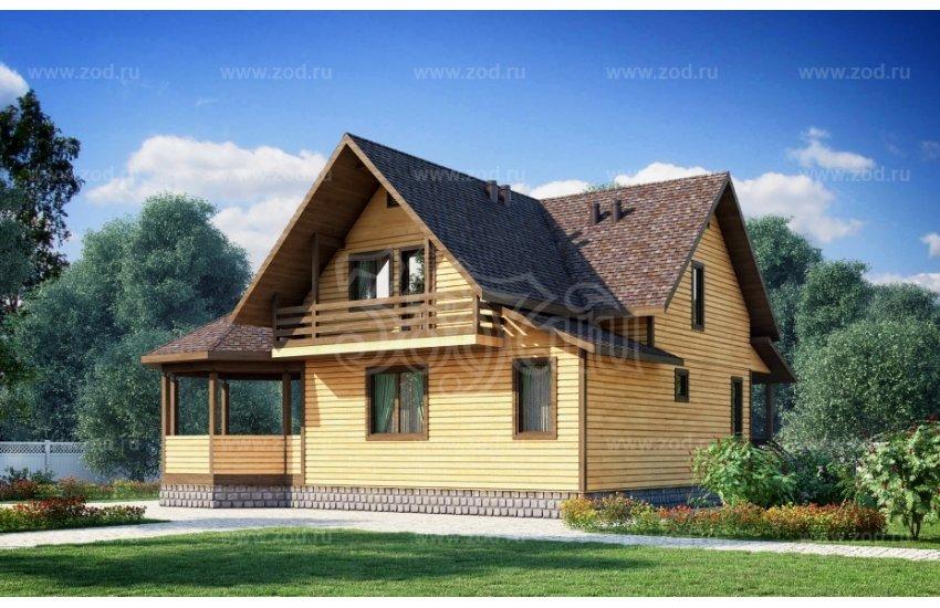 Дом 9.70×9.10